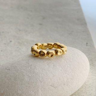 kotama ring in brass † gold