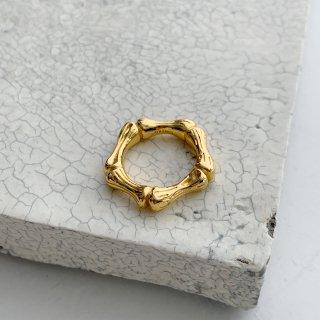 bamboo ring † gold