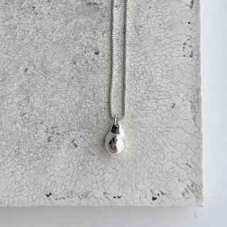 baroque necklace † silver