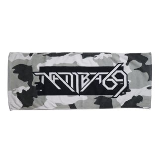 LOGO FACE TOWEL_GRAY