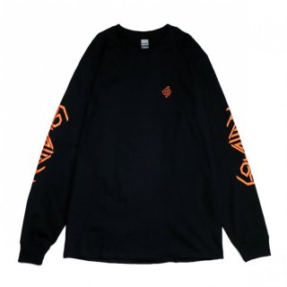 SALE 30%_69 LOGO L/S TEE (ORANGE)