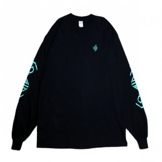 SALE 30%_69 LOGO L/S TEE (GREEN)