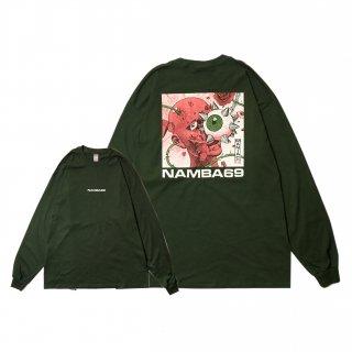 【通販限定】MANIAC 4 L/S TEE (FOREST GREEN)