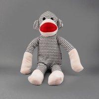 犬用おもちゃ ぬいぐるみ 織物 モンキー NANDOG ナンドッグ 海外直輸入