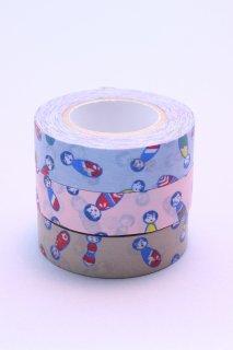 マスキングテープ (こけしちゃん)