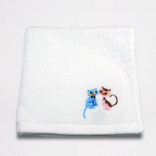 刺繍タオル(ランデヴー)