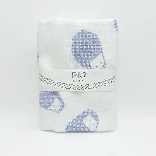 捺染タオル(だるま 紺)