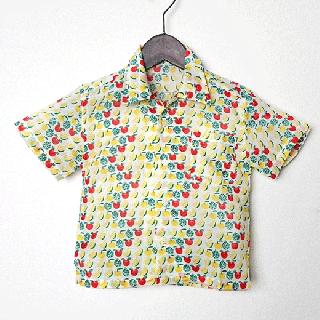 子供用シャツ90(フルーツ)