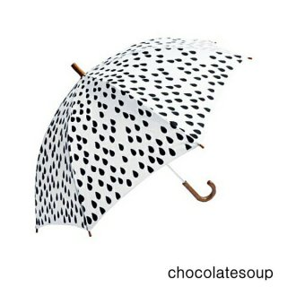【chocolatesoup チョコレートスープ】GEOMETRY UMBRELLA DROP 45.50cm