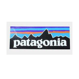 《Patagonia パタゴニア》【国内正規代理店】パタゴニア P6 ロゴ ステッカー PATAGONIA P-6 LOGO STICKER 長方形 シール (お一人様10枚まで)