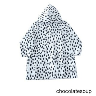 【chocolatesoup チョコレートスープ】GEOMETRY RAINCOAT DROP 100.110.120cm