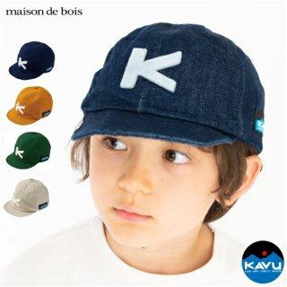 《KAVU/カブー》 キャップ K'S BASEBALL CAP【日本製】