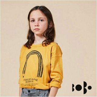 【20%OFF】《BOBO CHOSES ボボショセス》 長袖Tシャツ Straight Line Bender Long Sleeve T-Shits ベビー