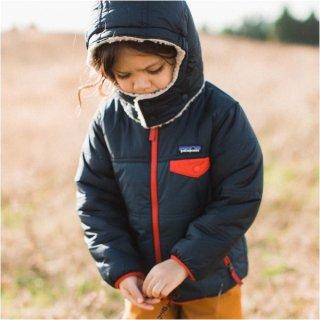Patagonia パタゴニア BABY REVERSIBLE TRIBBLES HOODY /ベビーリバーシブルトリブルズフーディ 61160 【国内正規取扱店】