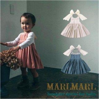 【MARLMARL/マールマール】bouquet baby エプロン ブーケシリーズ(ベビーサイズ 80-90cm)
