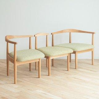秋岡芳夫・組み合わせて使える親子の椅子