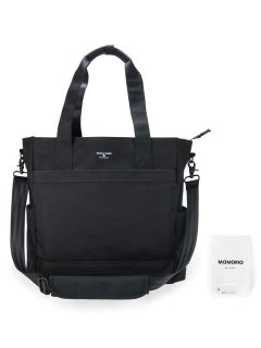 SQUALO WORKS TRACKING TOTE BLACK