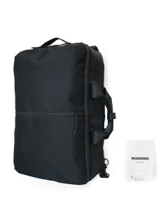 SQUALO WORKS TRACKING 3WAY BAG BLACK