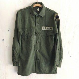 '78年製 military utility shirt
