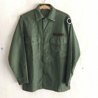 '67年製 military utility shirt