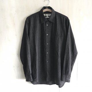 90's 'COMME des GARCONS SHIRT'  design wool shirt