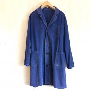 70's old French work coat