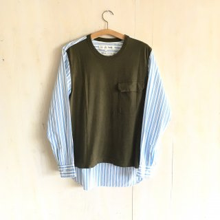 90's 'COMME des GARCONS SHIRT'  switch patern shirts