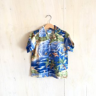 made in USA aloha shirt (kids)
