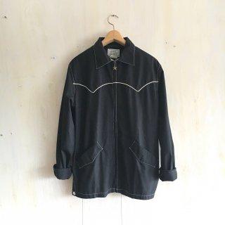 70's ' H Bar C   Ranch Wear '<br>Western Jacket<br>(black)