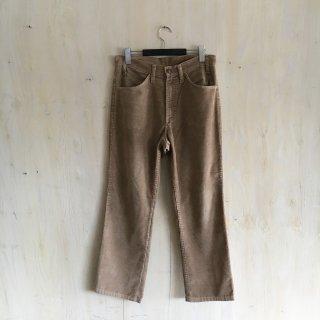 80's  levi's  corduroy pants '519' <br>Beige