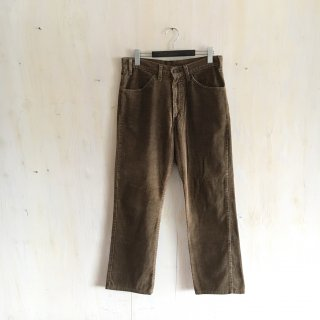 80's  levi's  corduroy pants '519' <br>Brown