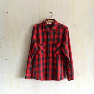 70s ' Sears  Kings Road ' Flannel Shirt