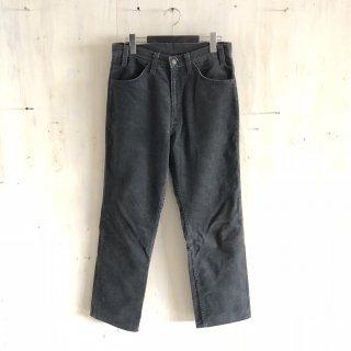80's  levi's  corduroy pants '519' <br>charcoal gray