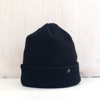 ' CPH c-plus headwear ' <br>CUF KNIT CAP<br>(Black)