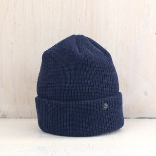 ' CPH c-plus headwear '<br> CUF KNIT CAP<br>(Navy)
