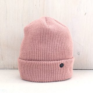 ' CPH c-plus headwear ' <br>CUF KNIT CAP<br>/UNI COLOR SHORT <br>(Smoke Pink)