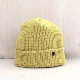 ' CPH c-plus headwear '<br> CUF KNIT CAP<br>/UNI COLOR SHORT <br>(Dark Yellow)