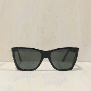 80s ' Persol ' Made In Italy  <br>Side Shields Sunglasses<br>Black