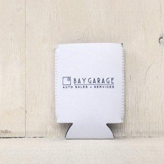 BAY GARAGE Koozie <br> White
