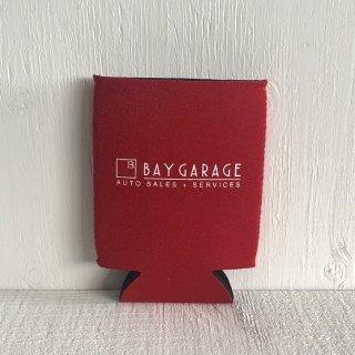 BAY GARAGE Koozie <br> Red