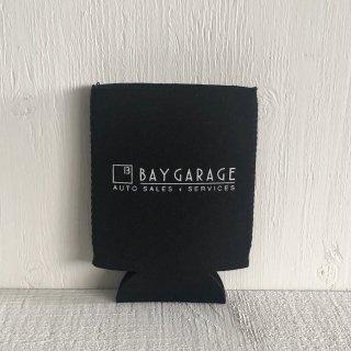 BAY GARAGE Koozie <br> Black