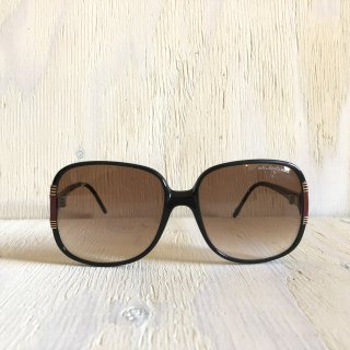90's BALENCIAGA  Big Round Glasses <br> France Made  <br>Black