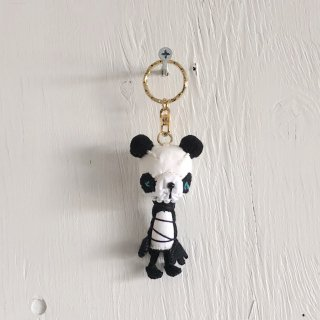 ' Togawa Doll '  Panda Keyring <br>Mono