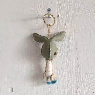' Togawa Doll '  Rabit Keyring <br>Olive