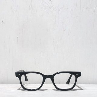 60s-70s Criss Optical  <br> Prisoner Glasses Made in USA<br>Black