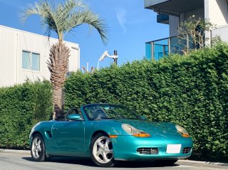 1997 Porsche Boxter LHD</br>5sp M/T Jade Turquoise</br> 19,000km