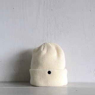 ' CPH c-plus headwear '<br> CUF KNIT CAP<br>(White)