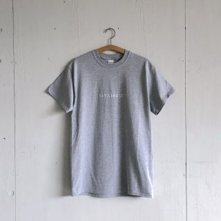 BAY GARAGE Printed T <br>'19 s/s<br> Gray x White Printed