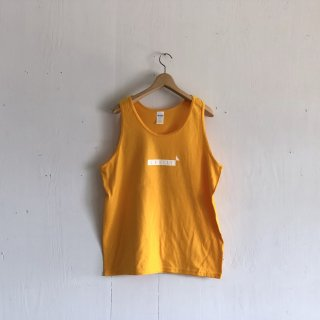 BAY GARAGE 1st aniversary <br>' CRUISE Tank '<br>  Gold x White Printed