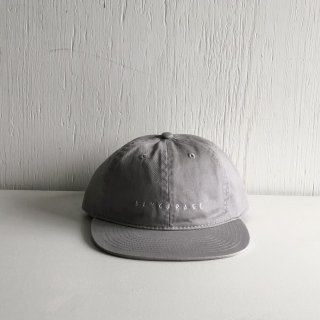 BAYGARAGE Six Panel Cap<br>New Logo <br>L.Gray